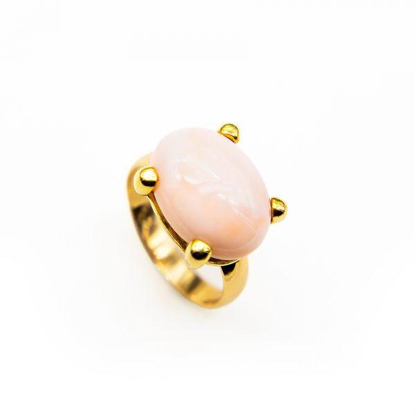 orobriz carmen joyeria sevilla coral anillo