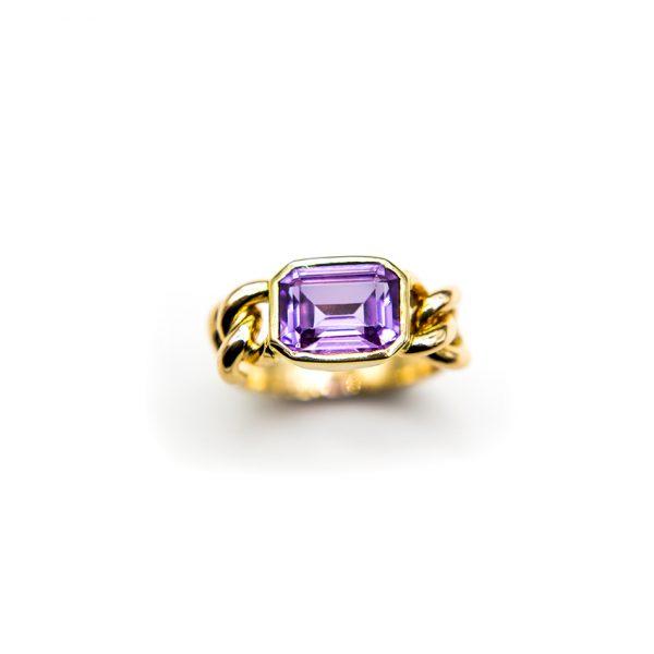 orobriz carmen joyeria sevilla oro amatista anillo