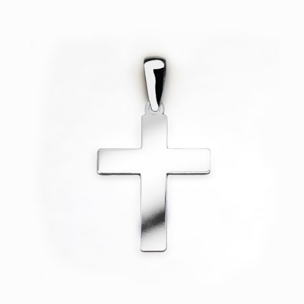 orobriz carmen joyeria sevilla cruz plata colgante